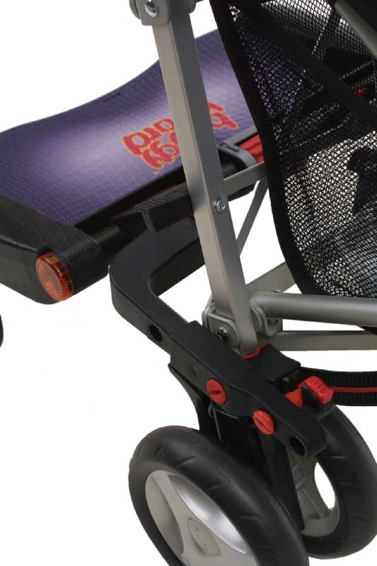 Buggy board Pram Board Maxi Size with connectors Fit Silver Cross Pram